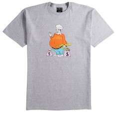 Pizza Big Cheese T-Shirt - Grey