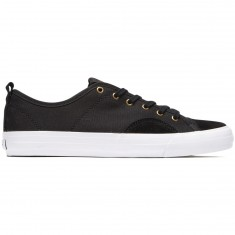 State Harlem Shoes - Black/White Canvas