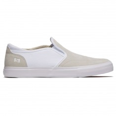 State Keys Shoes - Bone White Suede