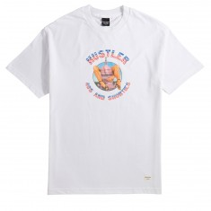 40s And Shorties X Hustler Legs T-Shirt - White