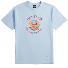40s And Shorties X Hustler Legs T-Shirt - Powder Blue