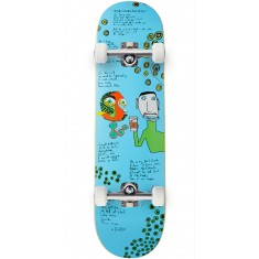 Lipstick Heddings Lizard Skateboard Complete - 8.25""