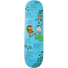 Lipstick Heddings Lizard Skateboard Deck - 8.50""
