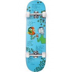 Lipstick Heddings Lizard Skateboard Complete - 8.50""