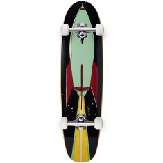 Lipstick And Rockets Cruiser Skateboard Complete - 7.75""