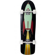 Lipstick And Rockets 90s Nose Cruiser Skateboard Complete - 9.00""