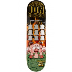 Deathwish Dickson Scratch To Win Skateboard Deck - 8.25""