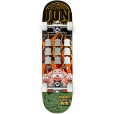 Deathwish Dickson Scratch To Win Skateboard Complete - 8.25""