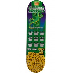 Deathwish  Lizard King Scratch To Win Skateboard Deck - 8.125""