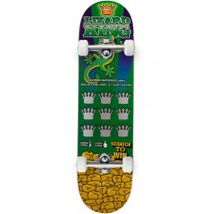 Deathwish  Lizard King Scratch To Win Skateboard Complete - 8.125""