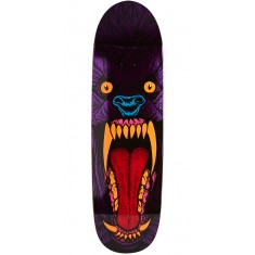 Deathwish Slash Purple Wolf Skateboard Deck - 8.75""