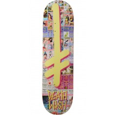 Deathwish Gang Logo Hollywood Press Skateboard Deck - 8.50""