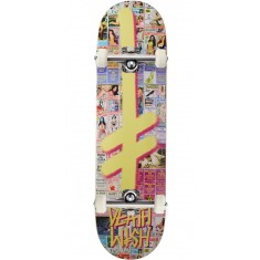 Deathwish Gang Logo Hollywood Press Skateboard Complete - 8.50""