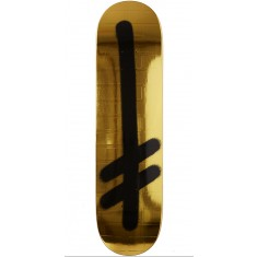 Deathwish Original G Gold Bricks Skateboard Deck - 8.125""