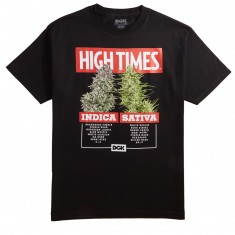 DGK X High Times Options T-Shirt - Black