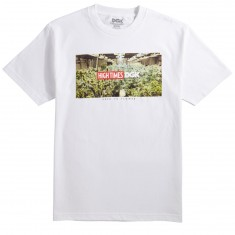 DGK X High Times Grow Room T-Shirt - White
