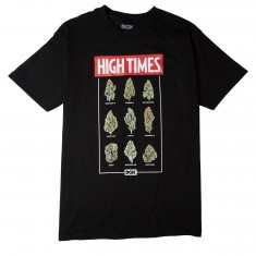 DGK X High Times Fire T-Shirt - Black
