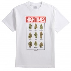 DGK X High Times Fire T-Shirt - White