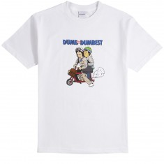 40s And Shorties Dumbest T-Shirt - White