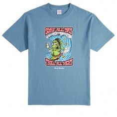 40s And Shorties Troll T-Shirt - Slate