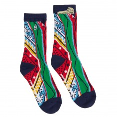 40s And Shorties Big Poppa Socks - Multi