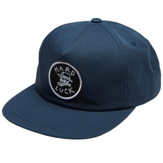 Hard Luck OG Unstructured Snapback Hat - Navy