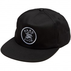 Hard Luck OG Unstructured Snapback Hat - Black