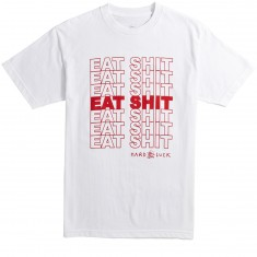 Hard Luck Recycle T-Shirt - White