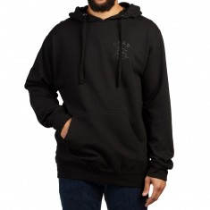 Hard Luck Blacked Out Hoodie - Black