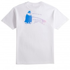 Know Bad Daze Heavy Slime Bar T-Shirt - White