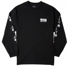 Know Bad Daze Heavy Slime My God Long Sleeve T-Shirt - Black