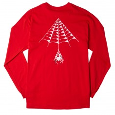 Know Bad Daze Kyle Grand Web Long Sleeve T-Shirt - Red