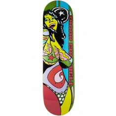 Foundation Campbell Color Of Women Skateboard Deck - Green - 8.375""