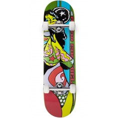 Foundation Campbell Color Of Women Skateboard Complete - Green - 8.375""