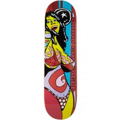 Foundation Campbell Color Of Women Skateboard Deck - Brown - 8.375""