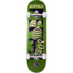 Foundation Servold Splittin Skateboard Complete - Green - 8.25""