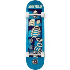 Foundation Servold Splittin Skateboard Complete - Blue - 8.25""