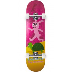 Foundation Leabres Turtle And Hare Skateboard Complete - Pink - 8.25""