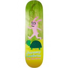 Foundation Leabres Turtle And Hare Skateboard Deck - Green - 8.25""