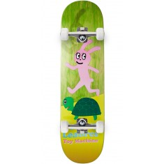 Foundation Leabres Turtle And Hare Skateboard Complete - Green - 8.25""