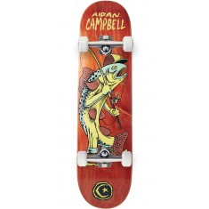Foundation Campbell Gone Fishin Skateboard Complete - Orange - 8.00""
