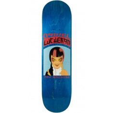 Toy Machine Lutheran Calico Skateboard Deck - Blue - 8.25""
