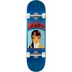Toy Machine Lutheran Calico Skateboard Complete - Blue - 8.25""