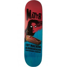Toy Machine Bennett Coffin Skateboard Deck - Blue - 8.50""