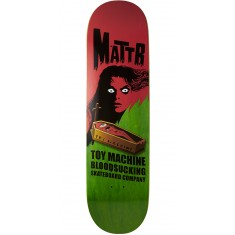 Toy Machine Bennett Coffin Skateboard Deck - Green - 8.50""