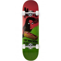 Toy Machine Bennett Coffin Skateboard Complete - Green - 8.50""