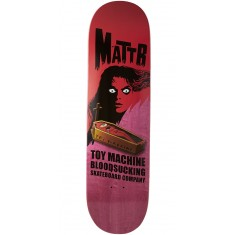 Toy Machine Bennett Coffin Skateboard Deck - Pink - 8.50""