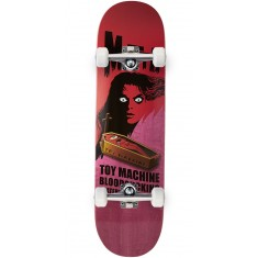 Toy Machine Bennett Coffin Skateboard Complete - Pink - 8.50""