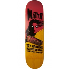 Toy Machine Bennett Coffin Skateboard Deck - Yellow - 8.50""