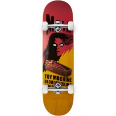 Toy Machine Bennett Coffin Skateboard Complete - Yellow - 8.50""